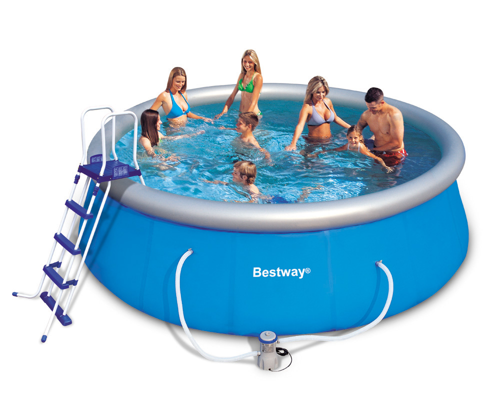 Piscine rectangulaire autoportee for Piscine hors sol intex pas cher
