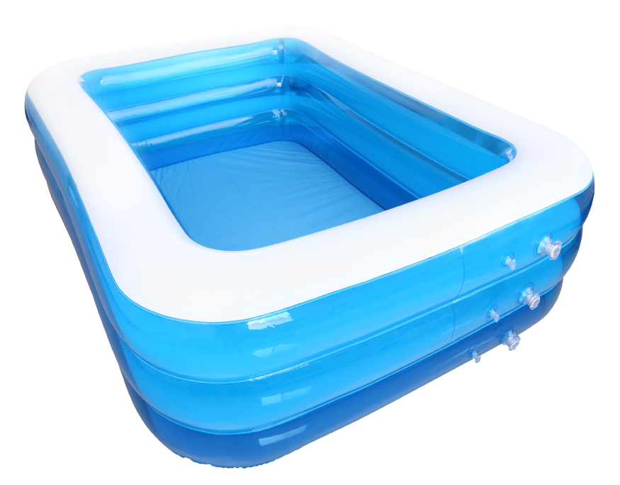 Piscine gonflable rectangulaire piscine gonflable ronde for Piscine gonflable rectangulaire